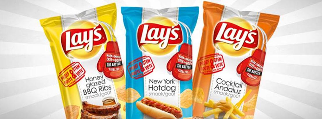 Lay's laat 27.000 voetbalfans smaak bekennen met chipsstunt