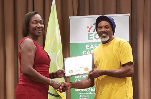 OECS Honours Longstanding Seasonal Agricultural Workers