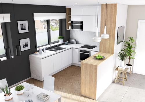 Compacte keukens, personalisatie en innovatieve opbergelementen bij èggo