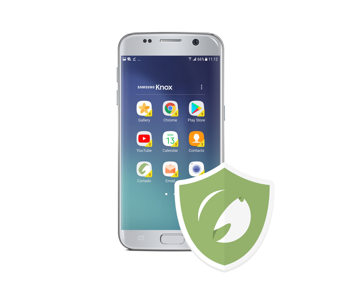 In addition to Android Enterprise, Cortado Server now also supports Samsung Knox.