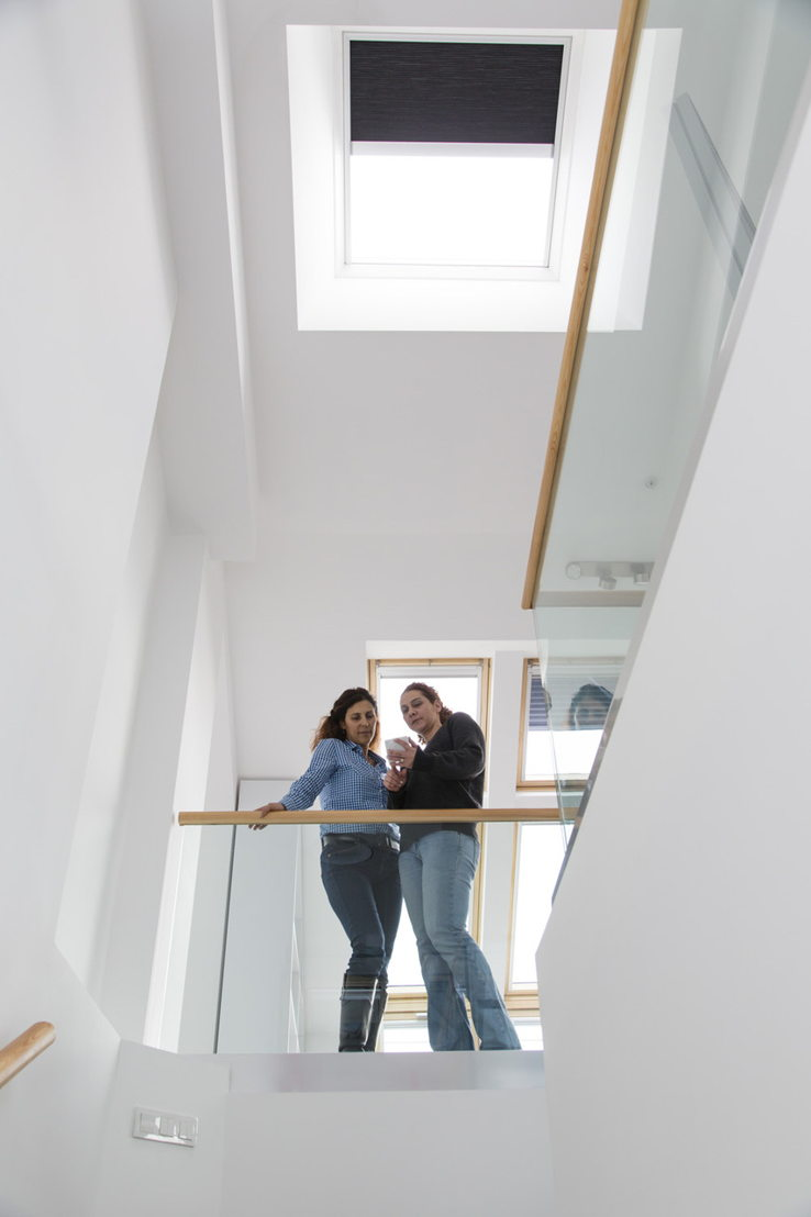 la fen tre pour toit plat velux offre de nouveaux avantages l utilisateur. Black Bedroom Furniture Sets. Home Design Ideas