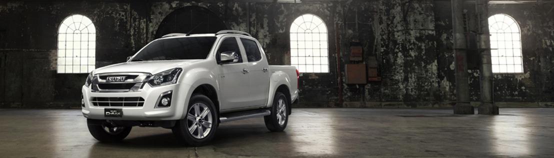 Isuzu stelt nieuwe D-Max voor met 1.9 dieselmotor