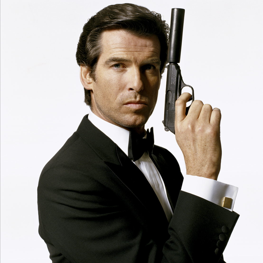 El actor irlandés Pierce Brosnan como el agente del servicio secreto, James Bond en 1995<br/>© Iconic Images / Terry O&#039;Neill