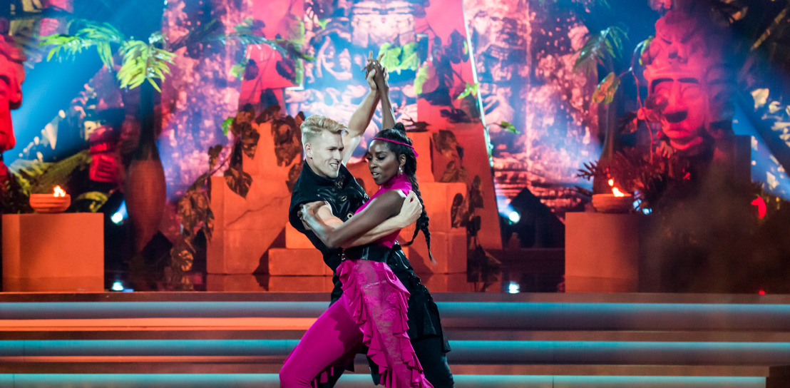 Latin Night nekt Elodie Ouedraogo in Dancing With The Stars