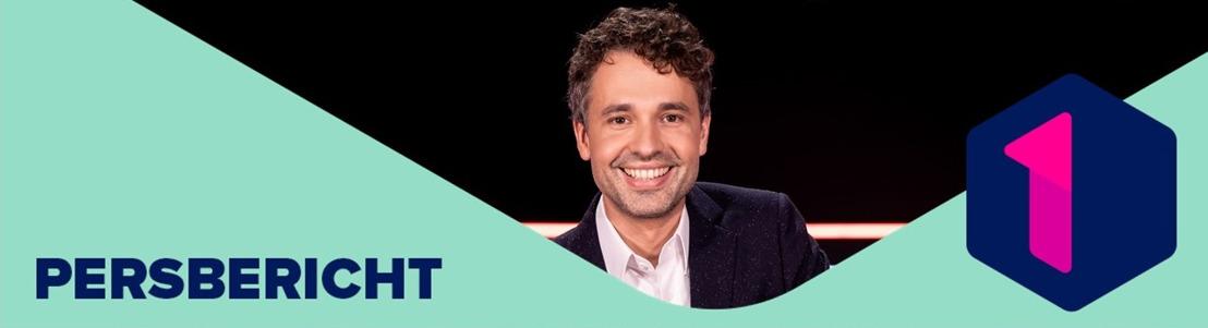 Populaire quiz 1 jaar gratis terug op Eén met Thomas Vanderveken en 16 enthousiaste kandidaten