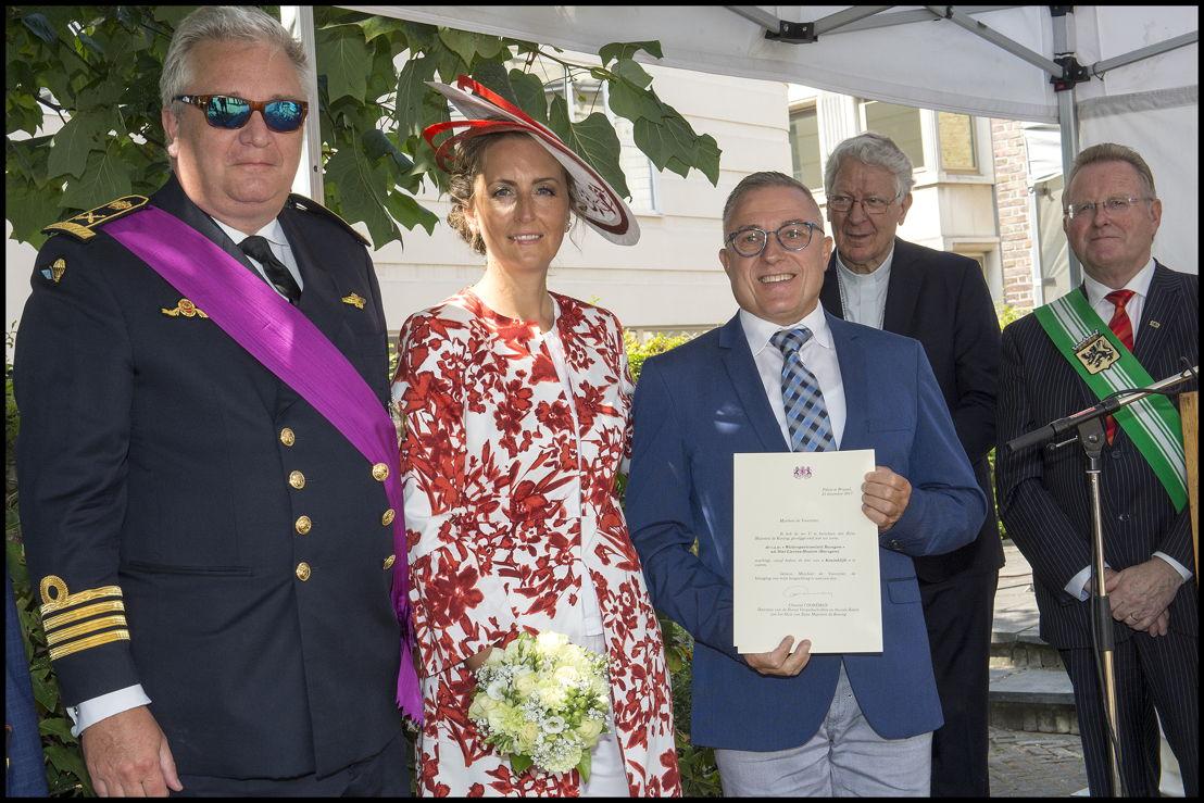 Koninklijke vzw Wielersportcomiteit Bavegem uit Sint-Lievens-Houtem, voorzitter Luc Matthys