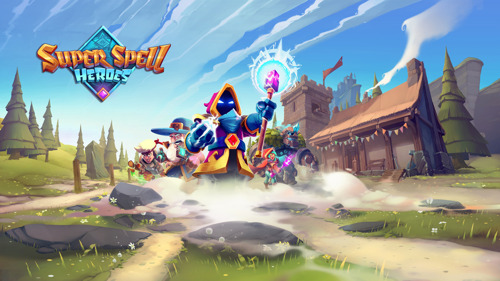 Flaregames partners with Hamburg studio Sviper to publish Super Spell Heroes – coming 20th August on the App Store and Google Play