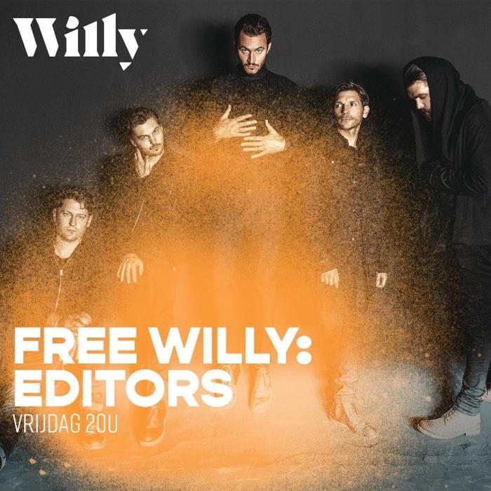 Editors als eerste internationale band te gast bij Willy