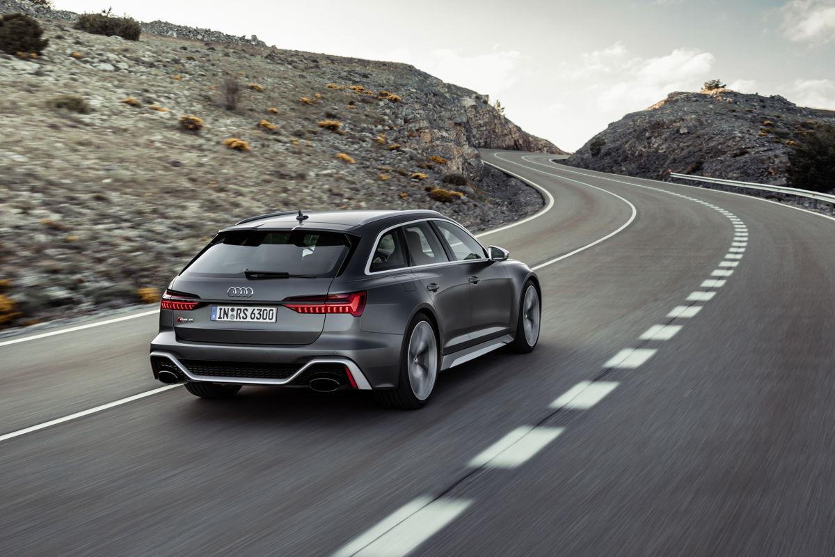 Audi RS6 arrière