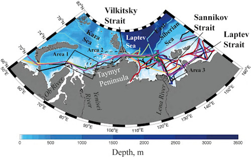 Scientists map freshwater transport in the Arctic Ocean