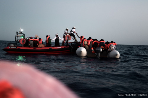 MSF urges immediate disembarkation of 629 people on board Aquarius to nearest port of safety