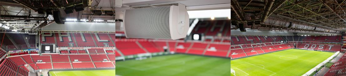El Philips Stadion del PSV Eindhoven es el primer recinto en instalar los nuevos sistemas ArenaMatch de Bose Profesional