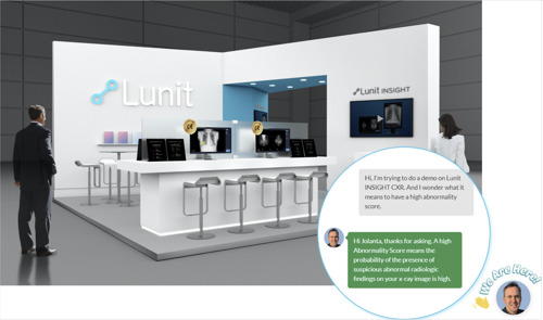 Lunit at ECR 2020: Providing Virtual Exhibition and Online Presentations