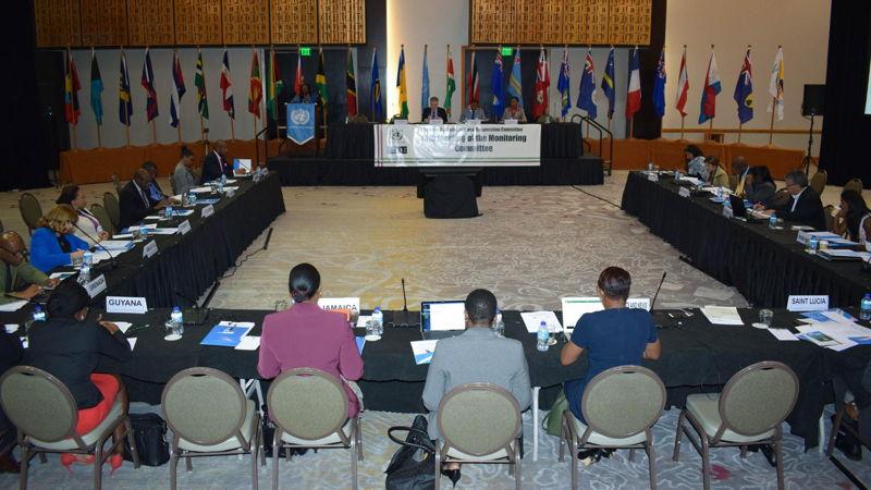 Participants at CDCC Meeting