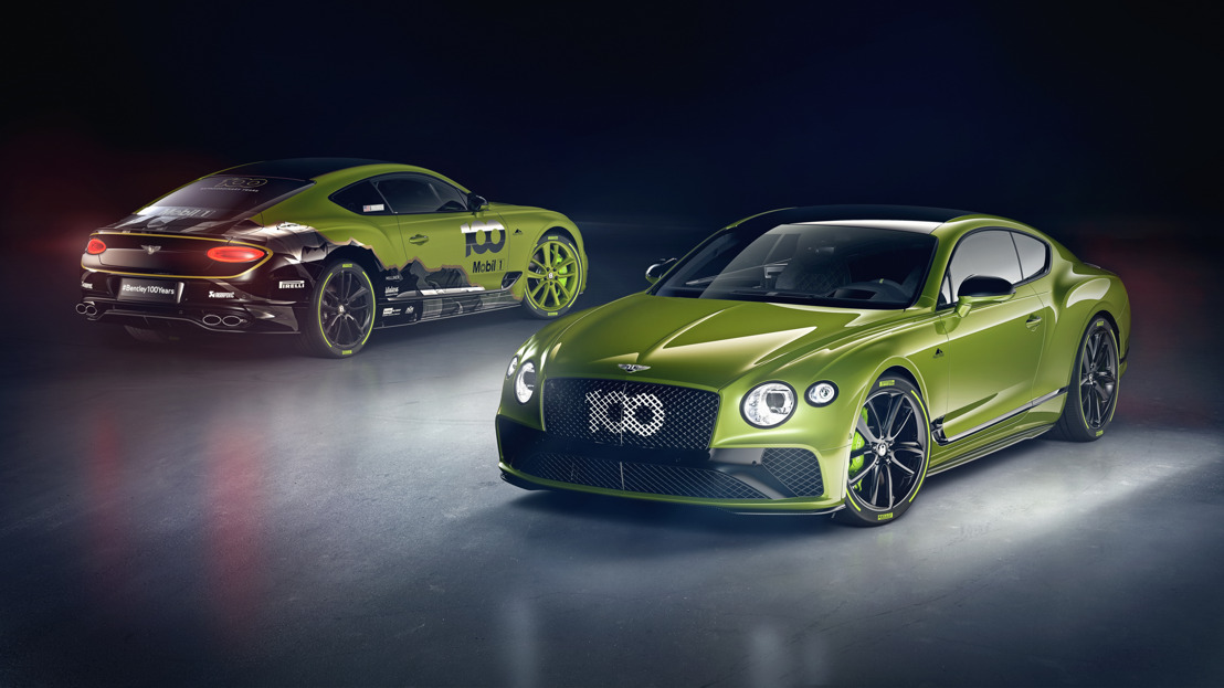LIMITED EDITION CONTINENTAL GT CELEBRATES BENTLEY'S PIKES PEAK RECORD