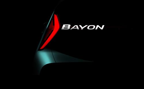 Il prossimo modello di SUV completamente nuovo di Hyundai si chiama Bayon