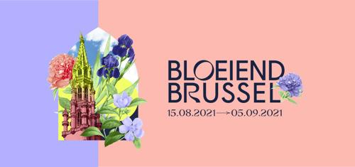 'Bloeiend Brussel': een boeket van kleuren en geuren in het stadscentrum