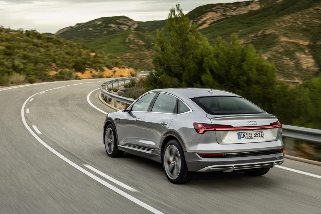Audi améliore encore la gamme de produits e-tron : recharge en courant alternatif d'une puissance de 22 kW, pour un plus grand confort de conduite