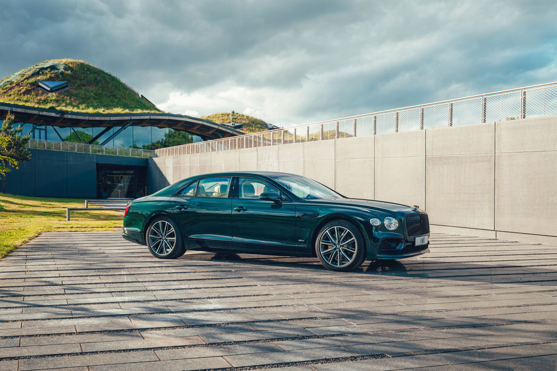 THE WORLD'S BEST LUXURY SEDAN MADE GREENER: INTRODUCING THE NEW FLYING SPUR HYBRID