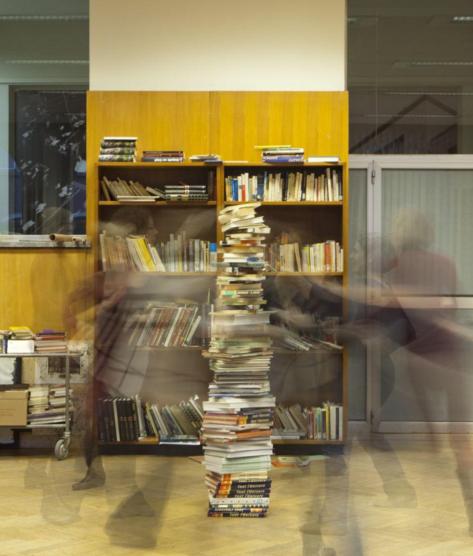 Bibliolympische Spelen: wie wordt de beste boekentorenbouwer?<br/>© Andrea Messana