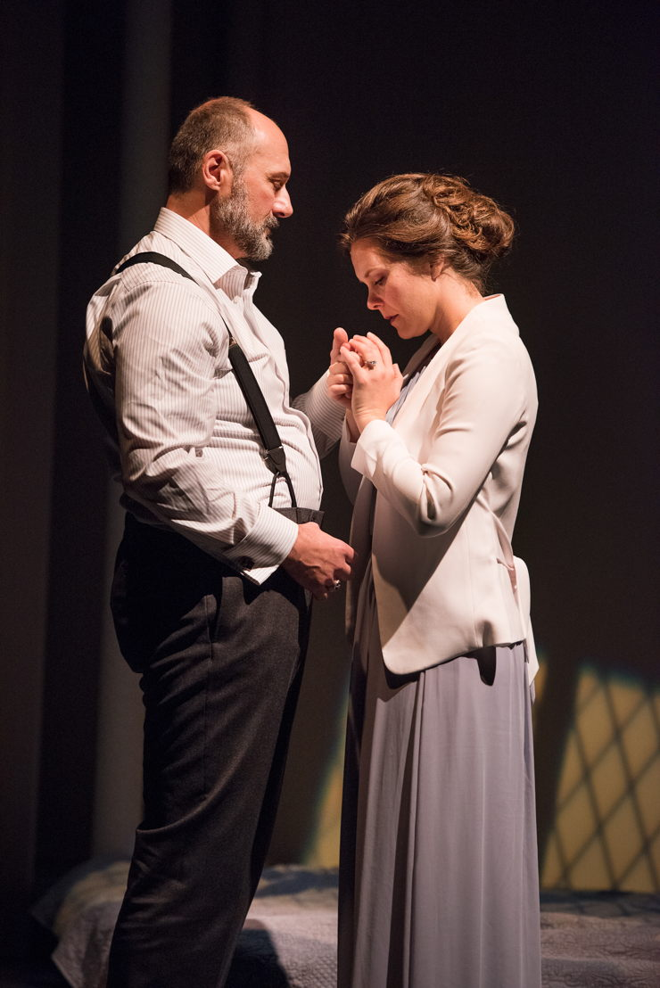 Oliver Becker and Celine Stubel in The Last Wife by Kate Hennig / Photos by Emily Cooper