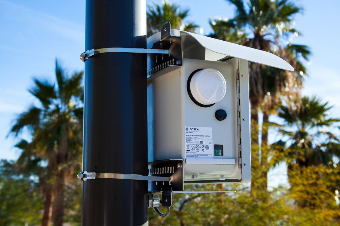 Bosch smart city solution Climo helps to manage air quality.