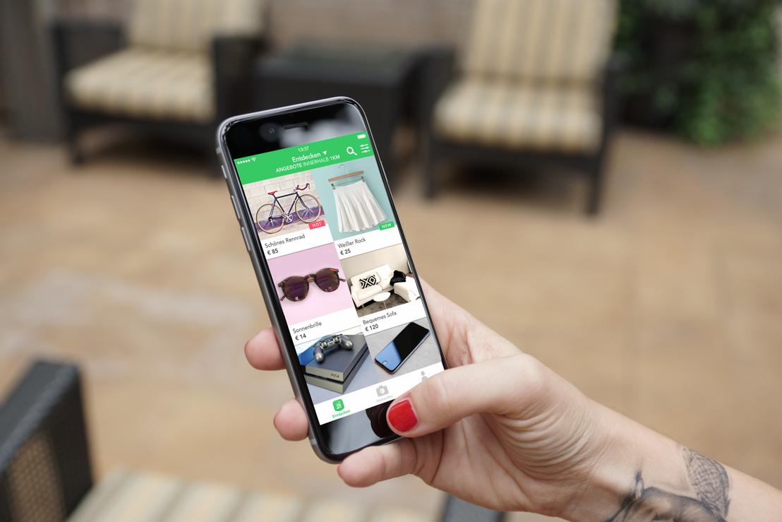 User können mit Shpock schöne Dinge in ihrer Umgebung finden