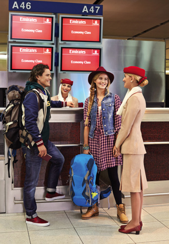 Emirates anticipates another peak travel week
