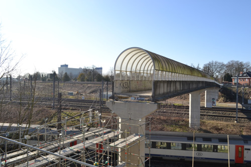 Fietsbrug Tivoli tijdelijk weer open vanaf 4 maart