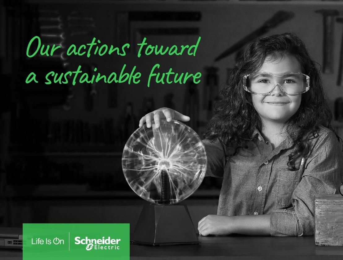 Schneider Electric krijgt erkenning als Clean Energy pionier