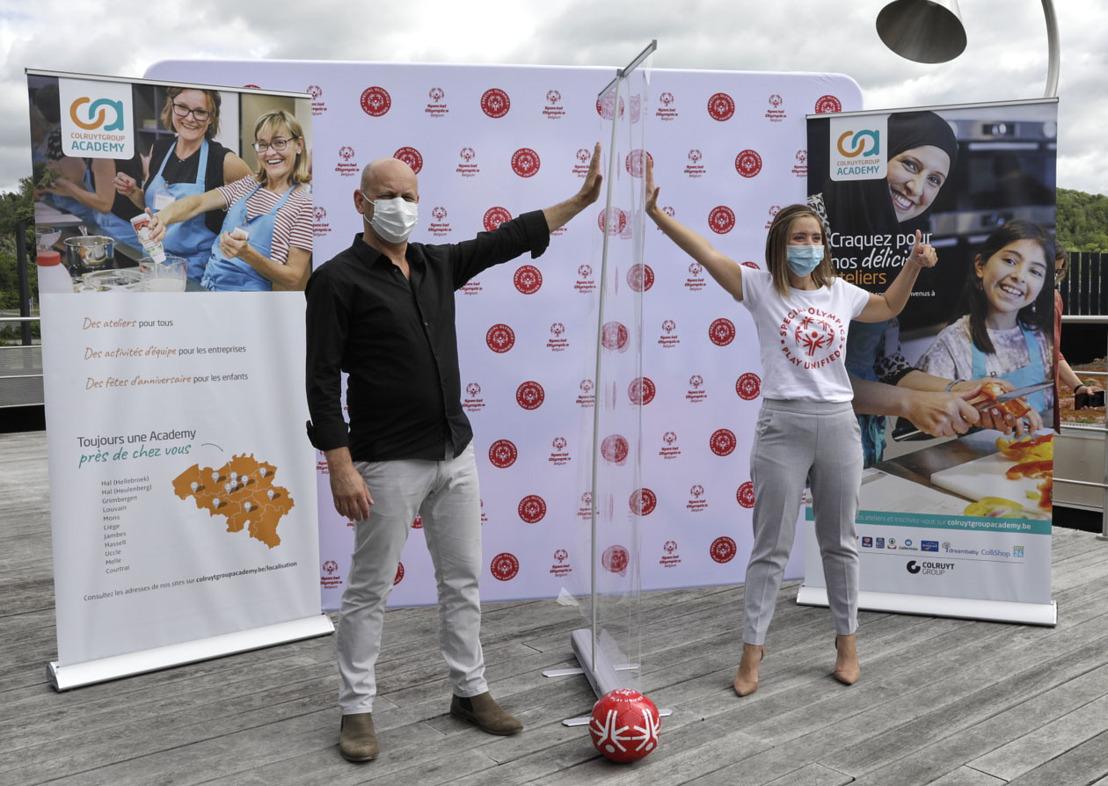 Communiqué de presse : La Colruyt Group Academy et ses partenaires offrent 50.000 masques à Special Olympics Belgium