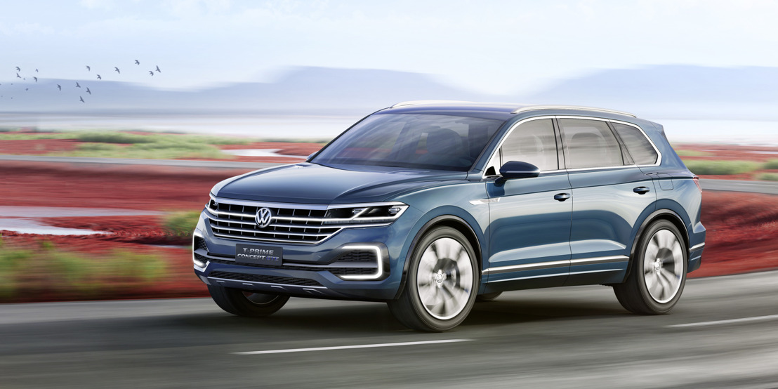 Beijing motorshow - Volkswagen electrifies China - Premiere of the T-Prime Concept GTE