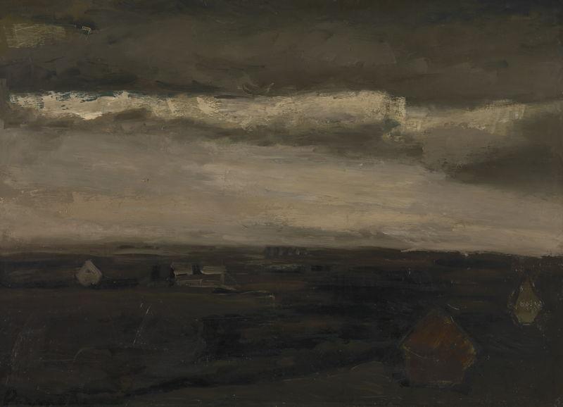 Landscape, Constant Permeke, c. 1938–1943 © Lukas - Art in Flanders, foto Dominique Provost