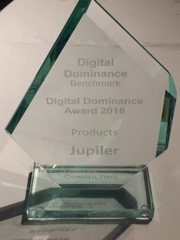 Digital Dominance Award 2016 - Jupiler