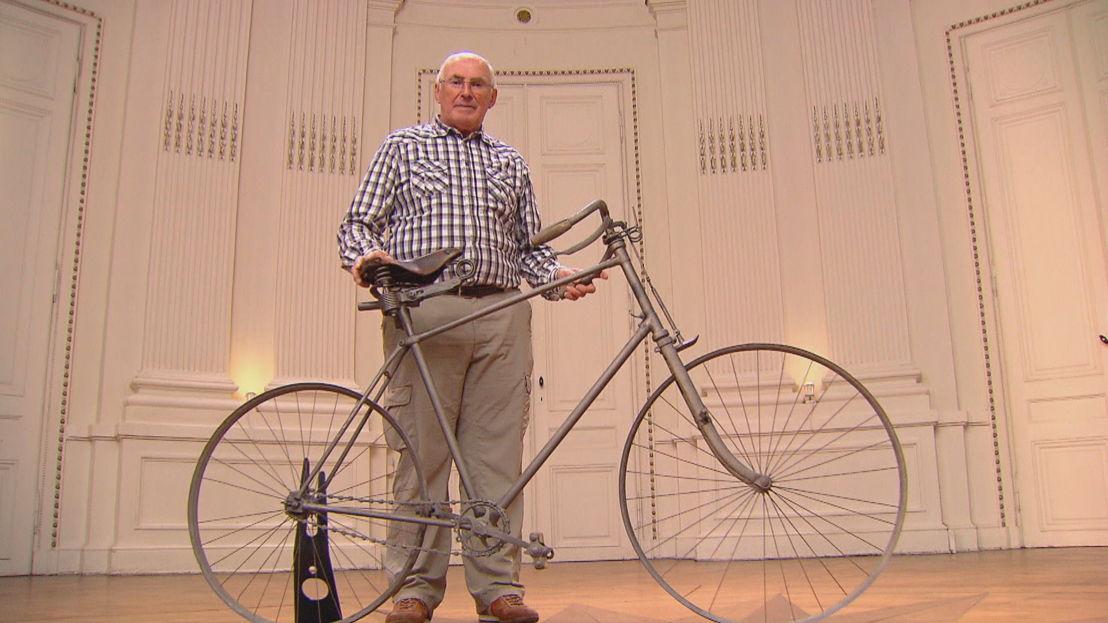 Lucien en zijn fiets