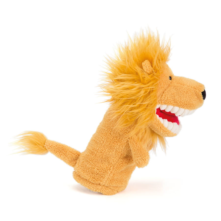 Jellycat - Toothy hand Lion Puppet 21,5 euro at Graanmarkt 13