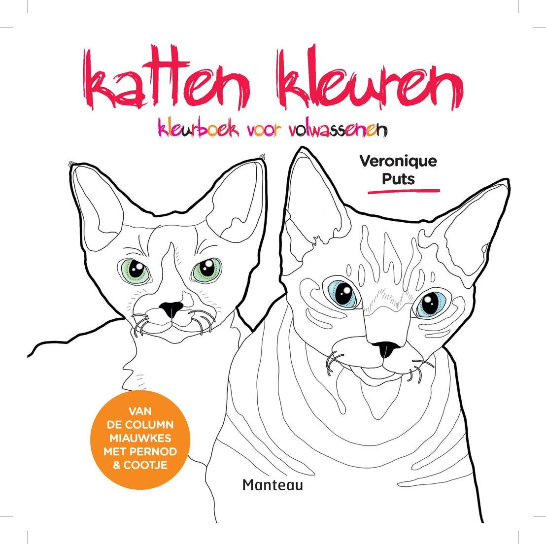 Cover 'Katten kleuren'