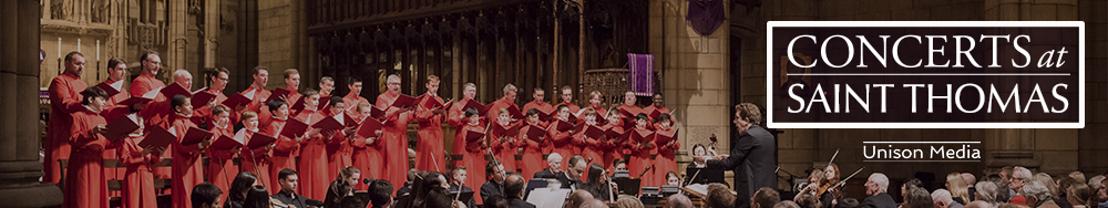 Concerts at Saint Thomas Announces its 2017-2018 Season