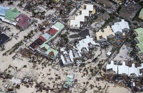 Aftermath of Hurricane Irma in Tortola, BVIs