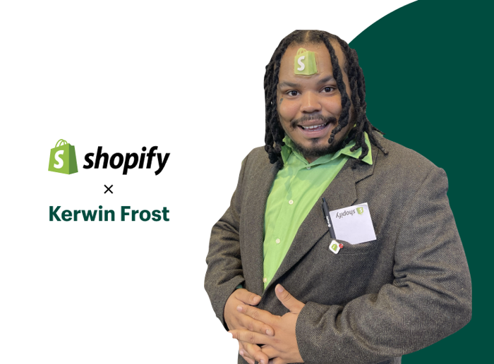 Preview: Getting Down to Business: Shopify and Kerwin Frost Inspire Young Creatives to Pursue Entrepreneurship