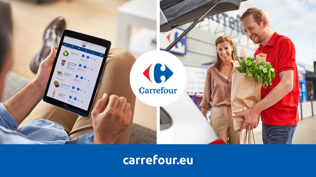 Carrefour Belgique conclut un partenariat stratégique et exclusif avec Food-X Technologies Inc., un acteur international de pointe dans l'e-commerce alimentaire.