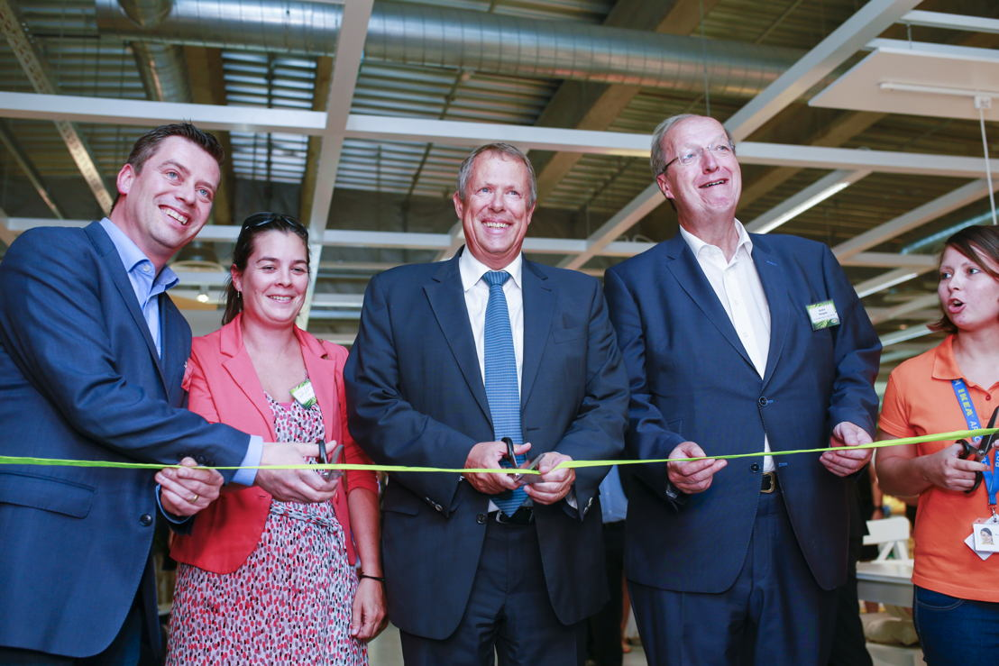 Inauguration par Mr Vincent Magnus, Bourgmestre de la ville d'Arlon