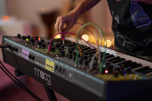 Sarah Schachner Composes Haunting Soundscape with Moog Matriarch