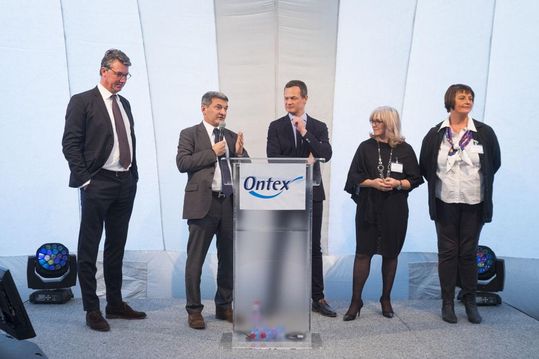 Ouverture de la nouvelle usine Ontex