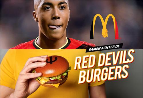 Preview: McDonald's verenigt alle Belgen achter de Rode Duivels