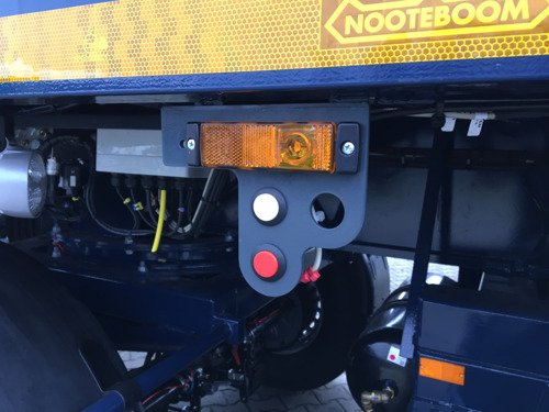 Nooteboom PowerUp | Load-sensing lift axle for axles with hydraulic suspension