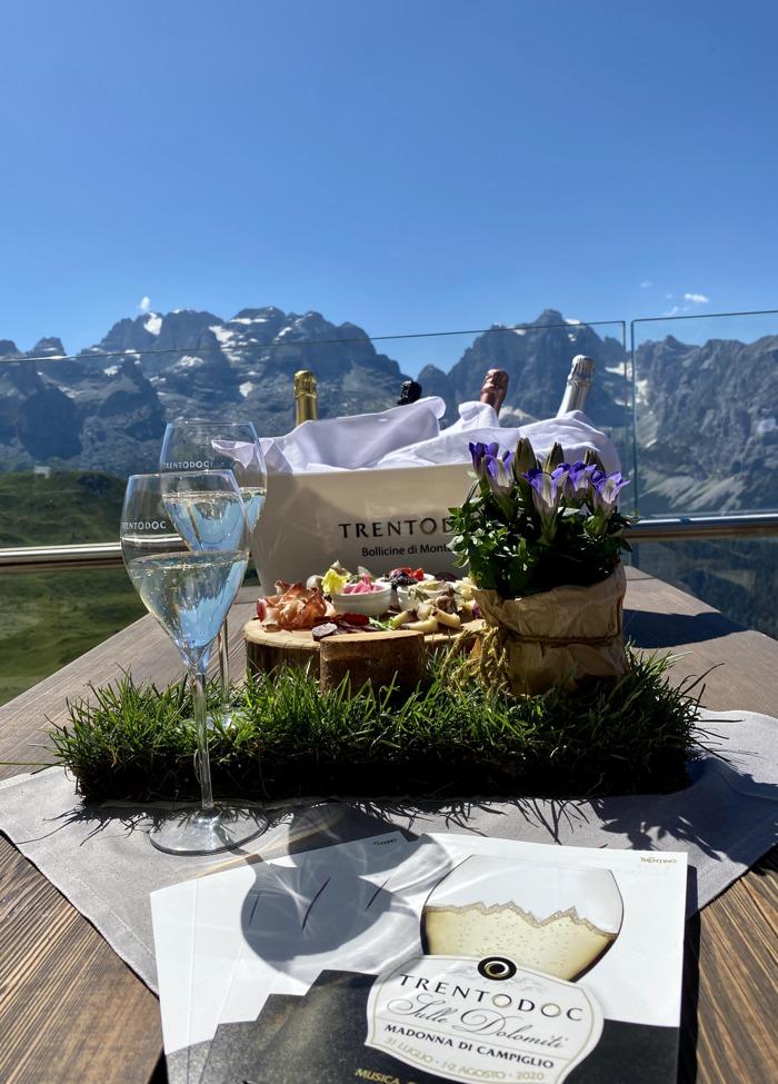 """Preview: """"Trentodoc sulle Dolomiti"""", a Madonna di Campiglio e Pinzolo"""