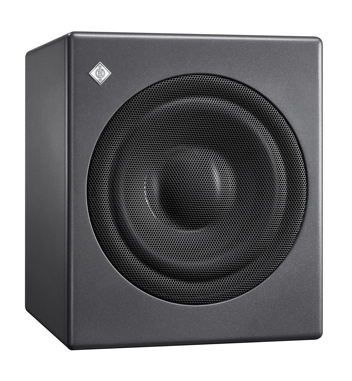 The KH 750 DSP is a particularly compact subwoofer for broadcast, music and post production studios