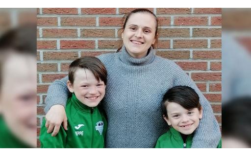 Nathalie is voetbalmama én studeert Orthopedagogische Begeleiding.