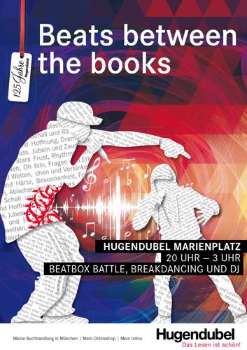 Beats between the books: Hugendubel lädt zur